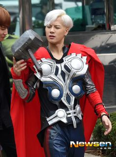 GOT7 Suits Up as The Avengers on Way to ′Music Bank′
