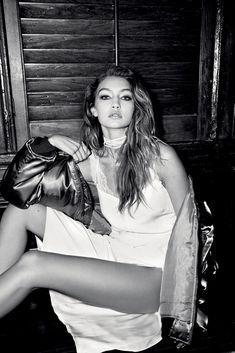 Gigi Hadid by Carin Backoff for Love Magazine Spring/Summer 2016