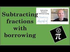 Subtracting with borrowing - 2 methods - YouTube