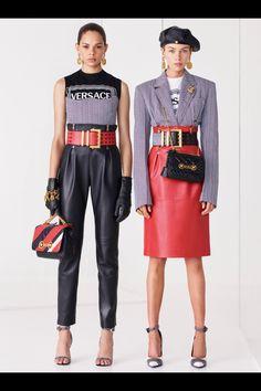 Versace #VogueRussia #resort #springsummer2019 #Versace #VogueCollections