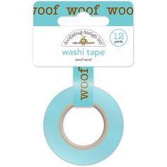 Woof Woof Washi Tape • Doodlebug Design
