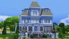 Mod The Sims: Wrayth Manor by edwardianed • Sims 4 Downloads