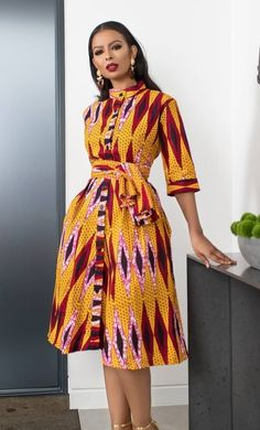 African Print Dresses, African Print Fashion, African Fashion Dresses, African Attire, African Wear, African Prints, Ethnic Fashion, African Dress, African Inspired Clothing