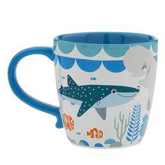Finding Dory Cast Mug Pixar, Disney Finding Dory, Finding Nemo, Bee Cupcakes, Disney Coffee Mugs, Disney Cups, Pug Mug, Coffee Mug Quotes, Disney Home