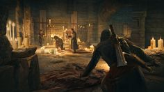 Catacomb Ritual - Assassin's Creed gaming games images pictures screenshot GameScapes GameShots concept digital art VistaLore daily pics beauty imagination Fantasy