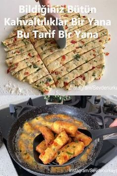 Great Recipes, Snack Recipes, Cooking Recipes, Favorite Recipes, Good Food, Yummy Food, Most Delicious Recipe, Cookery Books, Turkish Recipes