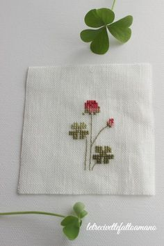 embroidery - cross stich - spring