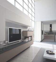 Cucinesse: FLASH #arredamento #living #soggiorno #design #interiordesign