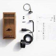 Con Lamp It puedes convertir cualquier objeto que se te ocurra en una lámpara - Contenido seleccionado con la ayuda de http://r4s.to/r4s
