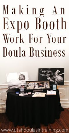 Doula Expo Booth