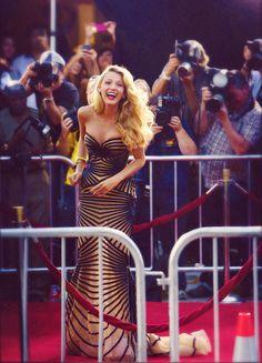 Blake Lively #style #redcarpet