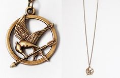 The Hunger Games Mockingjay Pendant Necklace 50% off at Groopdealz