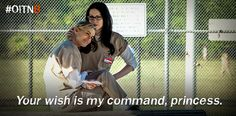 Anything for you. #OITNB