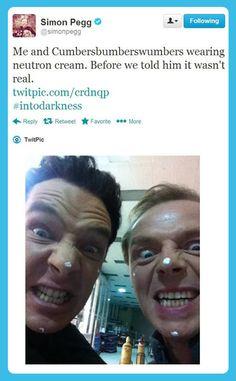 Simon Pegg and Cumbersbumberswumbers…