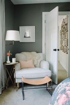 scandinavian home decor- bedroom design