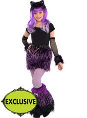 Girls Furry Monster High Costume