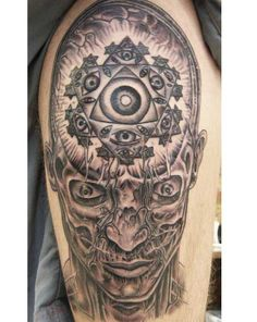 alex grey painting tattoo