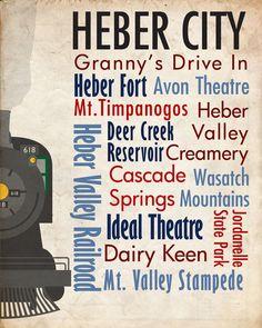 Sights of Heber City, Utah