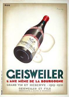 Vintage European Posters - Poster Detail