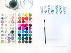Aren't these colors gorgeous? Check out our guide to watercolor for beginners from Natalie Malan on the CreativeLive blog.