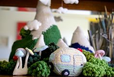 Here it is - How to Crochet a Mini Vintage Caravan!!!Materials. 1 x ball cotton dk cream 1 x...