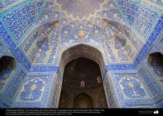 A glance to Imam Jomeini's Mosque -Isfahán