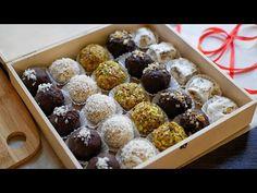 Коробка Конфет 🎁 5 Видов КОНФЕТ 🍬 подарок своими руками! - YouTube Candy Crafts, Candied Nuts, Diy Gift Box, Edible Gifts, All Things Christmas, Cake Pops, Cake Recipes, Deserts, Muffin