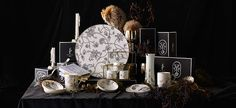 Lucent Blooms Fine Bone China by Frida Plumm #homewares #giftware #luxury #design #productdesign