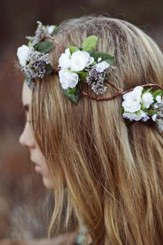 Woodland Wonders Crown in White