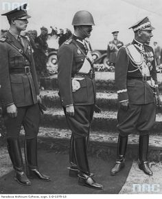 King Carol II of Romania visits the 57 Infantry Regiment of Poland 28 June 1938 ©Narodowe Archiwum Cyfrowe