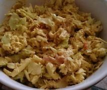 Salade de chou au curry