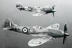 No. 208 Squadron's Spitfires Mk. XVIII — Historic Photographs | post-war | Spitfire Mk. XVIII