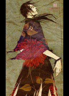 Samurai Champloo - Jin Curated by Edric Artist! I Love Anime, Anime Guys, Sword Art Online, Online Art, Manga Art, Manga Anime, Samurai Anime, Illustrations, Art Plastique