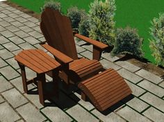 Adirondack Furniture Plans Package - Furniture Plans Adirondack Chair Plans, Adirondack Furniture, Outdoor Furniture, Outdoor Chairs, Outdoor Decor, Furniture Plans, Woodworking Plans, Painted Furniture, How To Plan