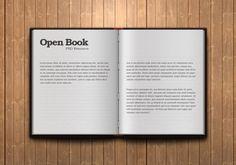 Open Book Web Designing PSD, http://hative.com/open-book-web-designing-psd/,