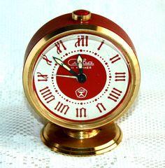 Vintage Alarm Clock Slava USSR Vintage Soviet by VintageSSSR