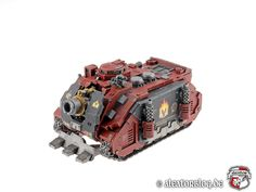 Warhammer 30k Horus Heresy | Word Bearers | Vindicator #warhammer #30k #30000 #wh30k #horus #heresy #preheresy #space #marines #gw #gamesworkshop #forgeworld #wellofeternity #miniatures #wargaming #hobby