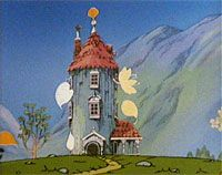 moomin house in tv-series
