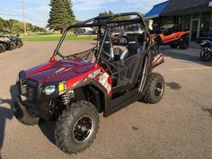 New 2016 Polaris RZR 570 EPS Trail Sunset Red ATVs For Sale in Michigan. 2016 Polaris RZR 570 EPS Trail Sunset Red, - Factory Authorized Clearance AWESOME RAZOR 570 READY FOR THE TRAILS OR THE DUNES,,THE BEST VALUE OF ANY SPORT UTV..!!!!!! ProStar® 570 engine, 4-valve DOHC Lightweight yet efficient and durable transmission for more power to the ground Fast acceleration: 0 to 35 mph in 4 seconds