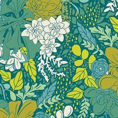 Rosette in Rain | Designer: Bonnie Christine - Succulence