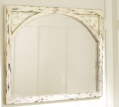 mantel mirror (pottery barn) Have it...love it!