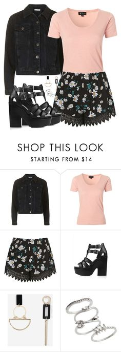 """""""[ Topshop Outfit ]"""" by demiwitch-of-mischief ❤ liked on Polyvore featuring Topshop"""