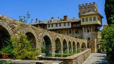 Moni Stavronikita Mount Athos Macedonia Greece