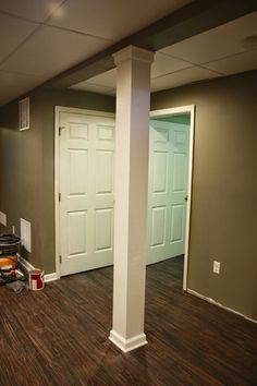 Awesome Basement Support Post