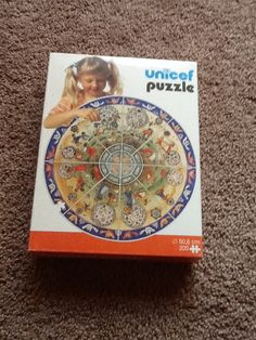 Circular children & trees Unicef puzzle 200 pieces