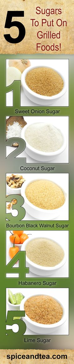 Our sugars are GREAT on savory dishes too! #sugar #grilling #spiceandtea