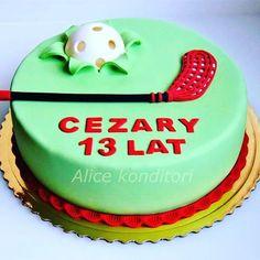 Výsledek obrázku pro innebandy tårta 7th Birthday, Happy Birthday, Birthday Cake, Sport Cakes, Desserts, Food, Google, Birthday Cakes, Birthday Cake Toppers