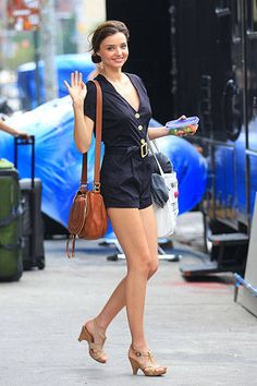 Proof that Miranda Kerr is the Queen of Street Style. See some of her best looks from summer to winter here.