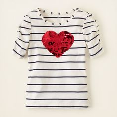 girl - outfits - sparkle time - paillette shine top | Children's Clothing | Kids Clothes | The Children's Place