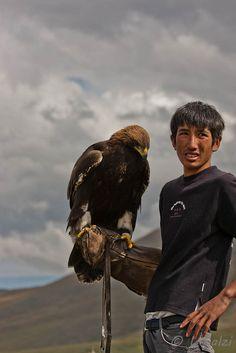 Eagle Hunter . Mongolia